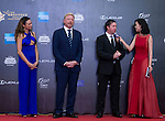 Boris Becker and his wife Sharlely, Robbie Fowler on the Red Carpet event at the World Celebrity Pro-Am 2016 Mission Hills China Golf Tournament on 20 October 2016, in Haikou, China. Photo by Marcio Machado / Power Sport Images