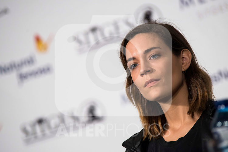 "Canadian actress Kathleen Munroe during the press conference of the presentation of ""The Void"" at Festival de Cine Fantastico de Sitges in Barcelona. October 08, Spain. 2016. (ALTERPHOTOS/BorjaB.Hojas)"