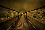 Pedestrian Walkway in Barbican Centre London