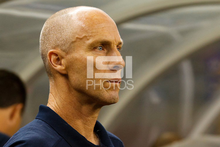 7 June 2011: USA head coach Bob Bradley during the CONCACAF soccer match between USA MNT and Canada MNT at Ford Field Detroit, Michigan. USA won 2-0.
