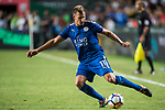 Leicester City FC midfielder Marc Albrighton in action during the Premier League Asia Trophy match between Leicester City FC and West Bromwich Albion at Hong Kong Stadium on 19 July 2017, in Hong Kong, China. Photo by Weixiang Lim / Power Sport Images