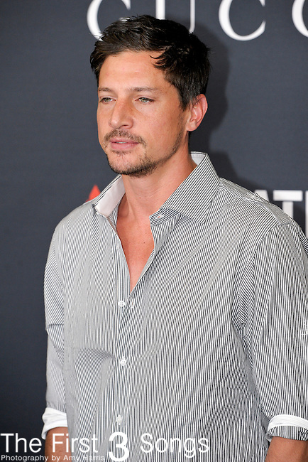 Actor and television personality Simon Rex (real name Simon Rex Cutright) attends the Gucci/RocNation Pre-Grammy Brunch at Soho House in West Hollywood, CA on Saturday, February 12, 2011.