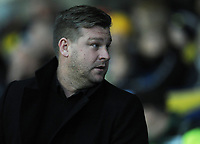 Oxford United manager Karl Robinson<br /> <br /> Photographer Kevin Barnes/CameraSport<br /> <br /> The EFL Sky Bet League One - Oxford United v Fleetwood Town - Tuesday 10th April 2018 - Kassam Stadium - Oxford<br /> <br /> World Copyright &copy; 2018 CameraSport. All rights reserved. 43 Linden Ave. Countesthorpe. Leicester. England. LE8 5PG - Tel: +44 (0) 116 277 4147 - admin@camerasport.com - www.camerasport.com