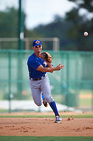 Toronto Blue Jays Carl Wise (1) during practice before an instructional league game against the Atlanta Braves on September 30, 2015 at the ESPN Wide World of Sports Complex in Orlando, Florida.  (Mike Janes/Four Seam Images)