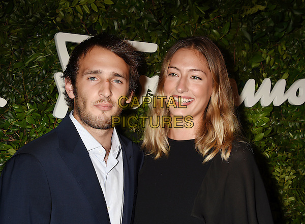 BEVERLY HILLS, CA - SEPTEMBER 09: Actor Hopper Penn (L) and Uma Von Wittkamp arrive at the Salvatore Ferragamo 100 Years In Hollywood celebration at the newly unveiled Rodeo Drive flagship Salvatore Ferragamo boutique on September 9, 2015 in Beverly Hills, California.<br /> CAP/ROT/TM<br /> &copy;TM/ROT/Capital Pictures