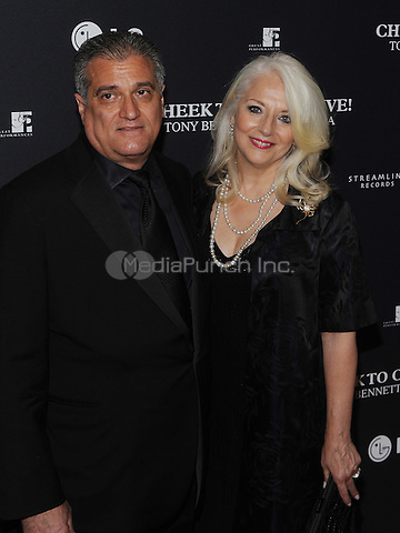 New York,NY-JULY 28: Joe Germanotta, Cynthia Germanotta attend 'Cheek To Cheek' taping at at Jazz at Lincoln Center on July 28, 2014 in New York City on July 27 , 2014.  Credit: John Palmer/MediaPunch