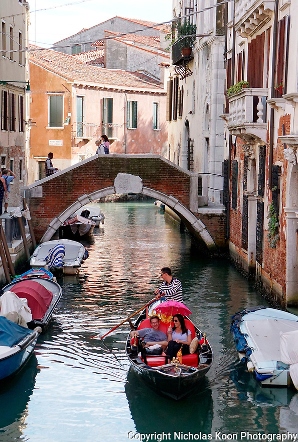 Gondola rides in Venice are a must do for all visitors.  With spectacular views and calm water in the canals, they offer quite the romantic ride.