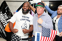 PHILADELPHIA, PA - JUNE 7 :  Damon Feldman is coming out of retirement as the longest time between professional boxing matches and will fight Mark &ldquo;Oak Tree&rdquo; Brown and to raise awareness for Alzheimer's disease as pictured at Damon Feldman&rsquo;s press conference at Chima Steak House in Philadelphia, Pa on June 7, 2018   CAP/MPI09<br /> &copy;MPI09/Capital Pictures