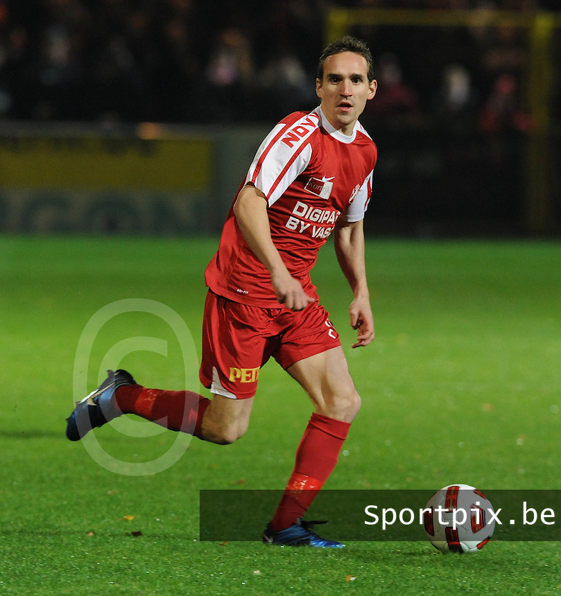 KV Kortrijk : Sven Kums.foto VDB / BART VANDENBROUCKE