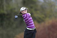 Molly O'Hara (Clandeboye) during the second round of the Irish Girls' Open Stroke Play Championship, Roganstown Golf Club, Swords, Ireland. 14/04/2018.<br /> Picture: Golffile | Fran Caffrey<br /> <br /> <br /> All photo usage must carry mandatory copyright credit (&copy; Golffile | Fran Caffrey)