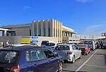 Queue line of cars at ferry terminal, Cirkewwa, Malta