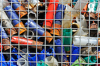 Hunting Rifle cartridges trash awaiting recycling (Licence this image exclusively with Getty: http://www.gettyimages.com/detail/101227252 )