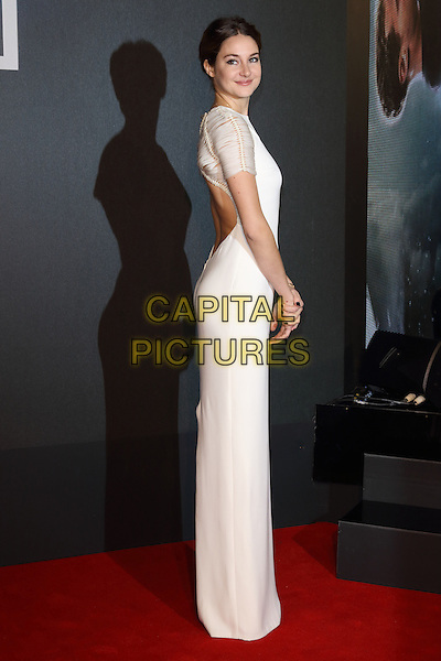 LONDON, ENGLAND - MARCH 11: Shailene Woodley attends the World Premiere of 'Insurgent' at Odeon Leicester Square on March 11, 2015 in London, England<br /> CAP/ROS<br /> &copy;Steve Ross/Capital Pictures
