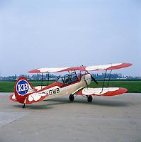 Stampe en Vertongen vliegtuig OO-GWB.