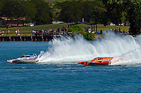 "Jimmy King, GP-10 ""The Charger"" and Mathew Daoust, GP-9 (Grand Prix Hydroplane(s)"