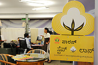 INDIA Maharashtra, Monsanto headoffice India in Mumbai, distribution of patented and gene modified seeds, herbicides, pesticides in India like Bt cotton Bollgard II and Round-up / INDIEN Maharashtra, Bombay, Monsanto Zentrale in Mumbai , Vertrieb von gentechnisch veraendertem und patentiertem Saatgut und Pestiziden auf dem indischen Agrarmarkt z.B Bt Baumwolle Bollgard II