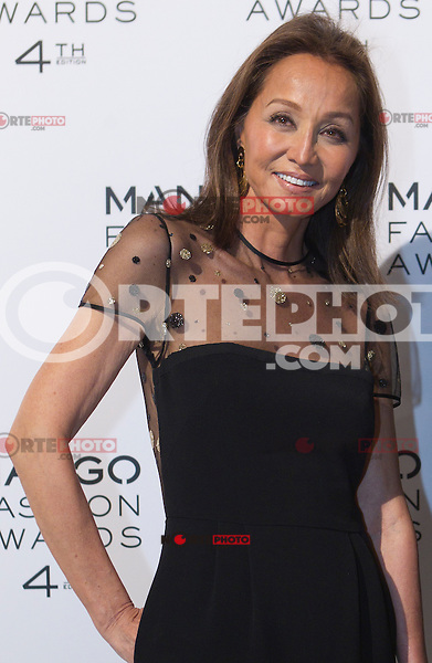 Isabel Preysler attends the Mango Fashion Awards,  Barcelona Spain, May 30, 2012.