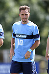28 August 2016: San Diego's Djordje Babic (GER). The Elon University Phoenix played the University of San Diego Toreros at Koskinen Stadium in Durham, North Carolina in a 2016 NCAA Division I Men's Soccer match. USD won the game 2-1.