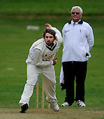Scottish National Cricket League - First Div - Drumpellier CC V Ayr CC at Langloan, Coatbridge - Ayr bowler Michael Papps - Picture by Donald MacLeod 24.07.10 - mobile 07702 319 738 - clanmacleod@btinternet.com