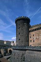 Italy,Campania,Naples,Napoli,Castel Novo