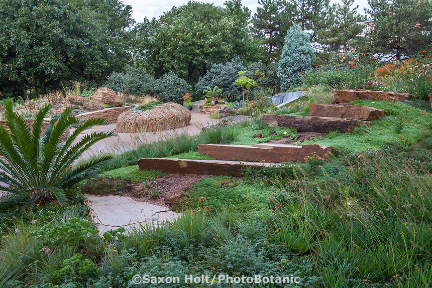 Steppe Garden section of Denver Botanic Garden