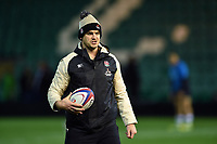England U20 Coach Mark Hopley looks on during the pre-match warm-up. U20 Six Nations match, between England U20 and Scotland U20 on March 15, 2019 at Franklin's Gardens in Northampton, England. Photo by: Patrick Khachfe / JMP