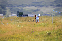 Ricardo Gouveia (POR) on the 11th during the Preview of the Irish Open at Ballyliffin Golf Club, Donegal on Tuesday 3rd July 2018.<br /> Picture:  Thos Caffrey / Golffile
