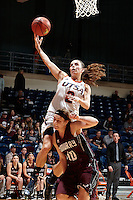 SAN ANTONIO, TX - NOVEMBER 1, 2014: The McMurry University War Hawks fall to the University of Texas at San Antonio Roadrunners 69-43 at the UTSA Convocation Center. (Photo by Jeff Huehn)