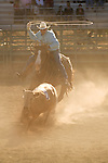 Minden Ranch Rodeo at the Douglas County Fairgrounds, Gardnerville, Nevada...A working rodeo with real cowboys and real-life ranch event competitions-team roping
