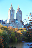 Nov. 12, 2010 - New York City, NY - The Waldorf Astoria Hotel as seen from Central Park  in New York City November 12, 2010. (Photo by Alan Greth)