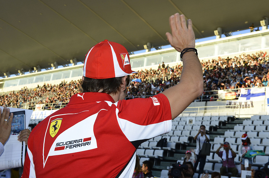 .Fernando Alonso (ESP),  Scuderia Ferrari..2012 FIA Formula One World Championship - Japanese Grand Prix - Suzuka Circuit - Suzuka - Japan - Thursday 4th October 2012...