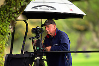 John Mathews sets up a timelapse. Cobra Puma New Zealand Men's Amateur Qualifying at the Royal Wellington Golf Course in Silverstream, Wellington, New Zealand on Wednesday, 26 October 2016. Photo: Dave Lintott / lintottphoto.co.nz / BWmedia.co.nz