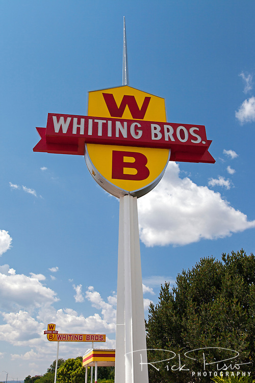 Whiting Bros gas station in Moriarty, New Mexico.