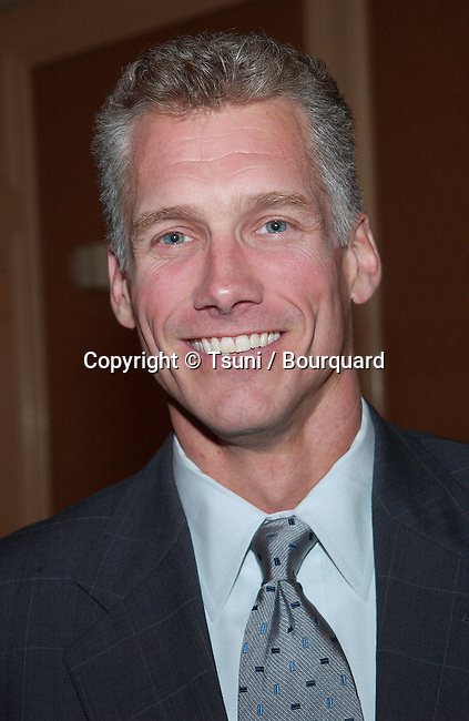 Kevin Brockman (ABC) at the Hollywood Radio and Television Society Newsmaker Luncheon Panel of Network Entertainment Presidents. The event was  at the Regent Beverly in Los Angeles. September 25, 2001.  BrockmanKevin_ABC05.jpg