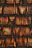 wood burning weathered