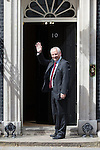 © Joel Goodman - 07973 332324 . 11/05/2015 . London , UK . FRANCIS MAUDE arrives at 10 Downing Street this afternoon (11th May 2015) . Photo credit : Joel Goodman