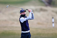 Reece Black (Hilton Templepatrick Golf Club) during the 3rd round of matchplay at the 2018 West of Ireland, in Co Sligo Golf Club, Rosses Point, Sligo, Co Sligo, Ireland. 02/04/2018.<br /> Picture: Golffile | Fran Caffrey<br /> <br /> <br /> All photo usage must carry mandatory copyright credit (&copy; Golffile | Fran Caffrey)
