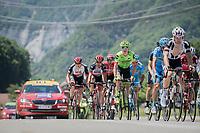 Simon Clarke (AUS/Cannondale-Drapac)<br /> <br /> stage 7: Aoste &gt; Alpe d'Huez (168km)<br /> 69th Crit&eacute;rium du Dauphin&eacute; 2017