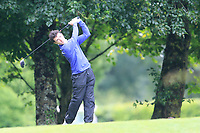 Rory Williamson (Holywood) during the first round at the Mullingar Scratch Trophy, the last event in the Bridgestone order of merit Mullingar Golf Club, Mullingar, West Meath, Ireland. 10/08/2019.<br /> Picture Fran Caffrey / Golffile.ie<br /> <br /> All photo usage must carry mandatory copyright credit (© Golffile | Fran Caffrey)