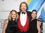 Riva Marker, Adam Speers, Jeanine Tesori attends the opening night performance of 'Sunday in the Park with George' at the Hudson Theatre on February 23, 2017 in New York City.