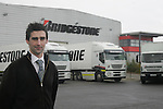 Bridgestone Trucks at the Bridgestone Ireland distrubation depot in Balbriggan Co Dublin.. Photo: Newsfile/Fran Caffrey.