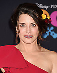 LOS ANGELES, CA - NOVEMBER 08: Actor Alanna Ubach arrives at the premiere of Disney Pixar's 'Coco' at El Capitan Theatre on November 8, 2017 in Los Angeles, California.