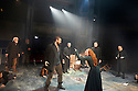 The Crucible by Arthur Miller, directed by Yael Farber. With Richard Armitage as John Proctor, Natalie Gavin as Mary Warren [red hair]. Opens at The Old Vic Theatre  on 3/7/14  pic Geraint Lewis
