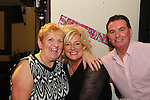 Marie Lynch with Madeiline Brady and Declan Farrell at her birthday party in McHughs.<br /> Picture: Shane Maguire / www.newsfile.ie