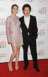 HOLLYWOOD, CA - NOVEMBER 03: Tessa Ia and Michael Franco arrive at the 2012 AFI FEST - 'Holy Motors' Gala Screening at Grauman's Chinese Theatre on November 3, 2012 in Hollywood,