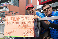 Indian fans hoping the bowlers will be on top during India vs New Zealand, ICC World Cup Semi-Final Cricket at Old Trafford on 9th July 2019