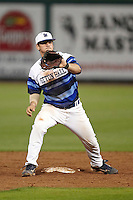 Seton Hall Pirates second baseman Mike Genovese #16 during a game against the Ohio State Buckeyes at the Big Ten/Big East Challenge at Florida Auto Exchange Stadium on February 18, 2012 in Dunedin, Florida.  (Mike Janes/Four Seam Images)