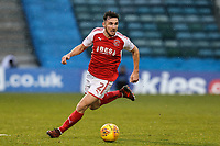 Lewis Coyle of Fleetwood Town during the Sky Bet League 1 match between Gillingham and Fleetwood Town at the MEMS Priestfield Stadium, Gillingham, England on 27 January 2018. Photo by David Horn.