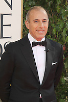 BEVERLY HILLS, CA - JANUARY 13: Matt Lauer at the 70th Annual Golden Globe Awards at the Beverly Hills Hilton Hotel in Beverly Hills, California. January 13, 2013. Credit: mpi29/MediaPunch Inc. /NortePhoto