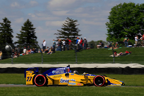 12-14 May, 2016, Indianapolis, Indiana USA<br /> Marco Andretti<br /> ©2016, Phillip Abbott<br /> LAT Photo USA